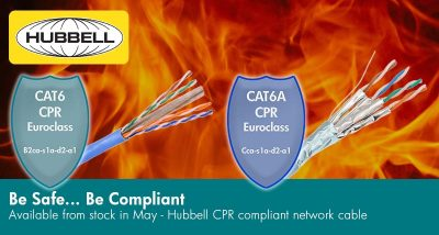 Hubbell CPR Compliant Network Cabling