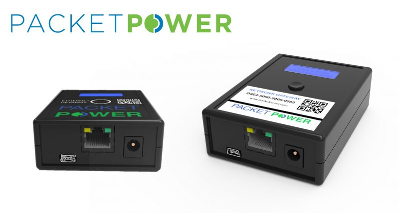 Packet Power Ethernet Gateway and Hub Launched