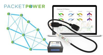 Packet Power Wireless Environmental Monitoring System for power and temperature monitoring