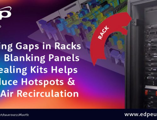 Improve Data Centre Rack Airflow to Help Optimise Cooling