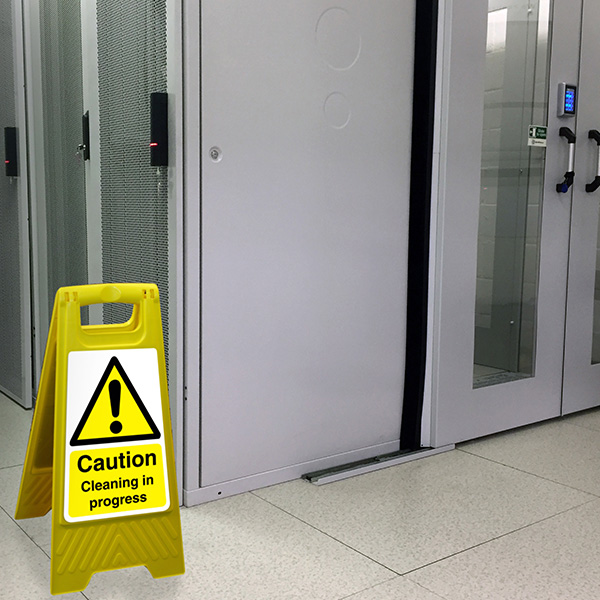 Critical facility cleaning for data centres and IT environments