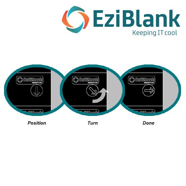 EziBlank 21in SU Blanking Panel
