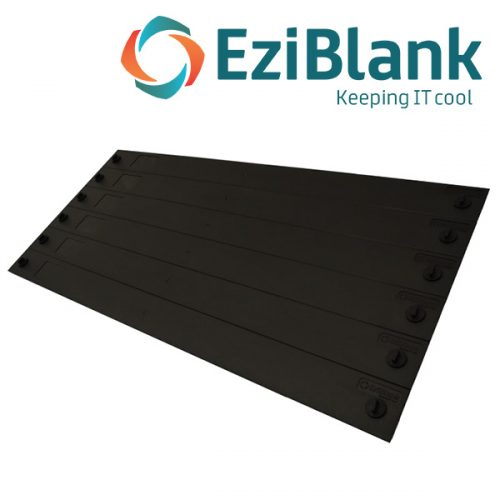 "EziBlank Universal 6RU 23"" Blanking Panels"