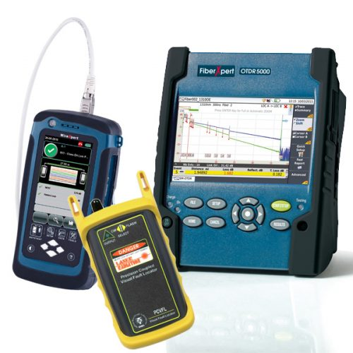 Fibre and Copper Cable Testers