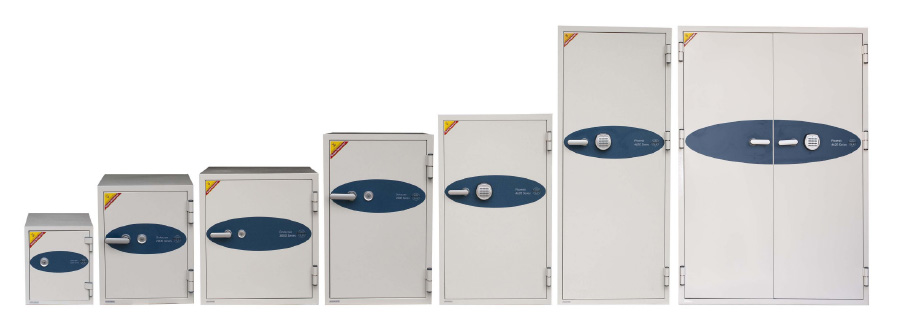 EDP Fireproof Safe Model Range