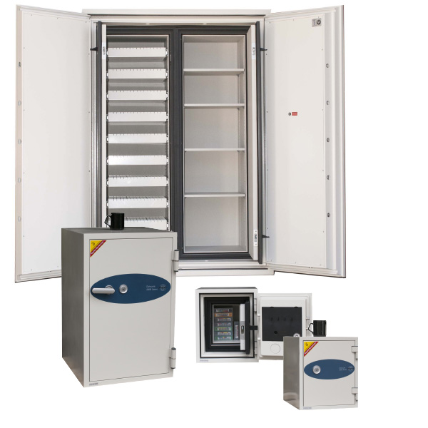 EDP DataCare & Data Commander Fireproof Media Safes