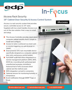 iAccess Rack Security System for IT cabinets