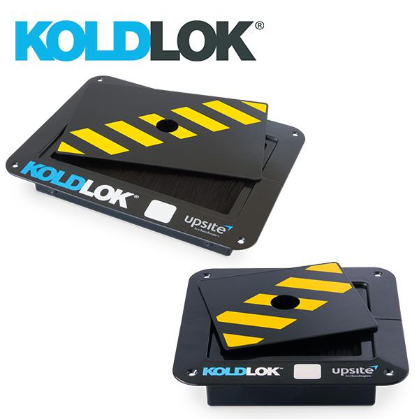 KoldLok SplitLok Safety Covers for covering the brushed area of KoldLok SplitLok floor grommets when no cables are installed