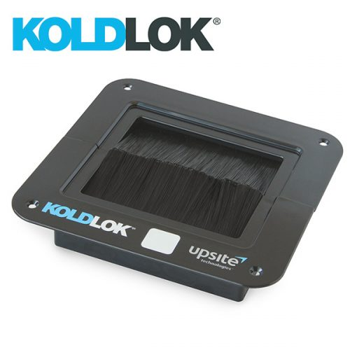 KoldLok SplitLok Square Raised Floor Grommet for sealing cable opening in data centre raised floors