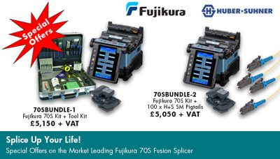 Promotional Special Offers on the Fujikura 70S fusion splicer
