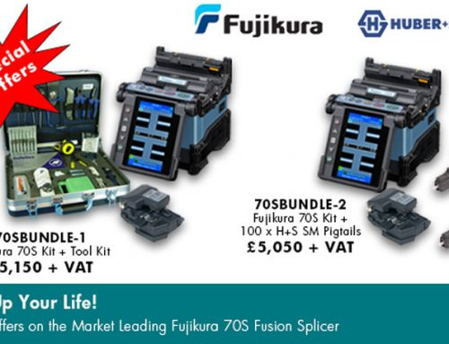 Special Offers on the Market Leading Fujikura 70S Fusion Splicer