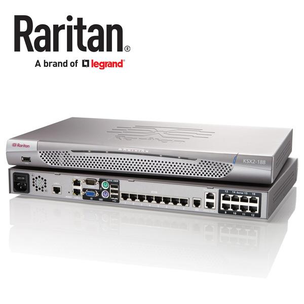 Raritan Dominion KSX2 KVM and Serial Switch