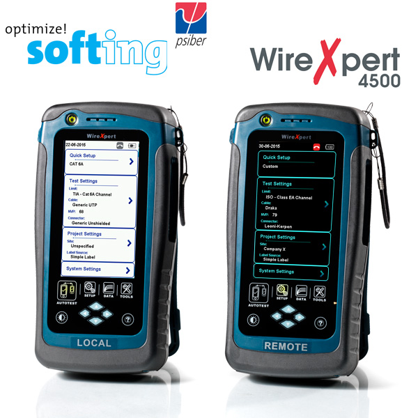 WireXpert 4500 Network Cable Certifier